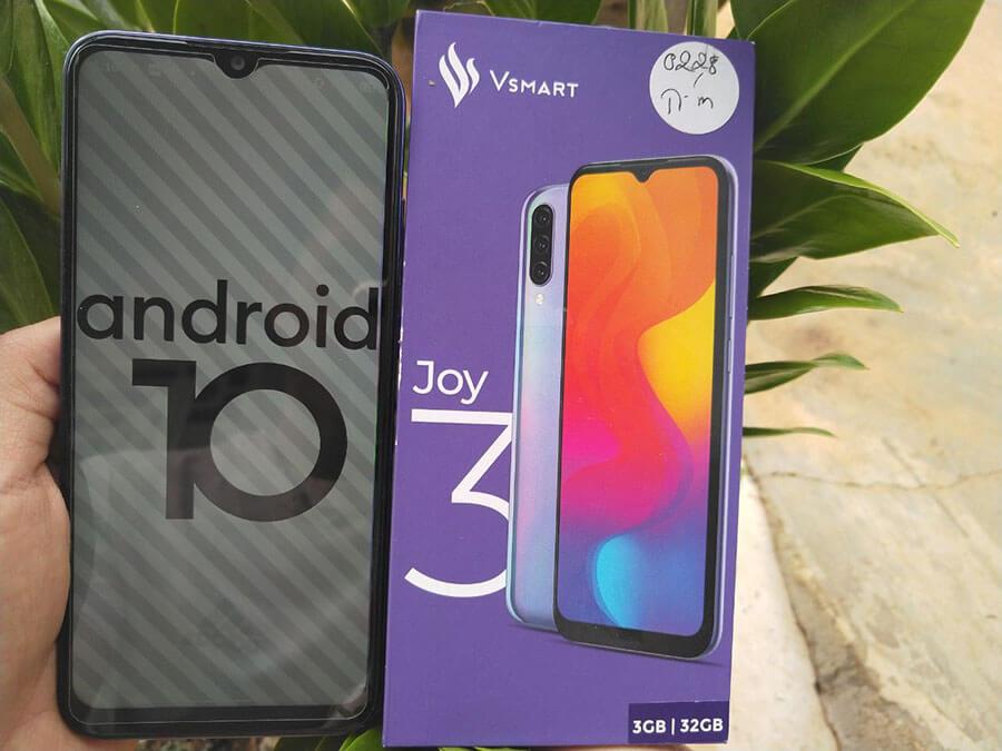 Android 10 trên vos 3.0 vsmart