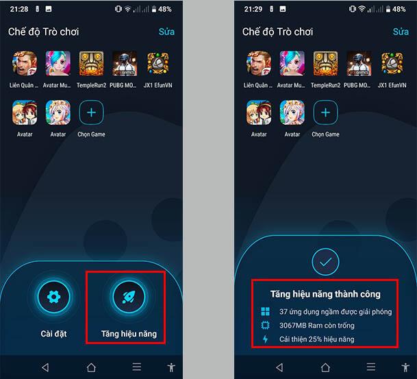 Chế độ chơi game (Game Mode)