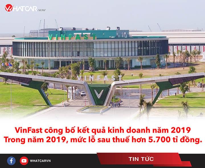 VinFast lỗ sau thuế hơn 5.700 tỉ đồng trong năm 2019