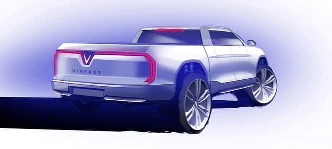 Vinfast  lộ bản vẽ xe bán tải ra mắt trong tương lai.jpg