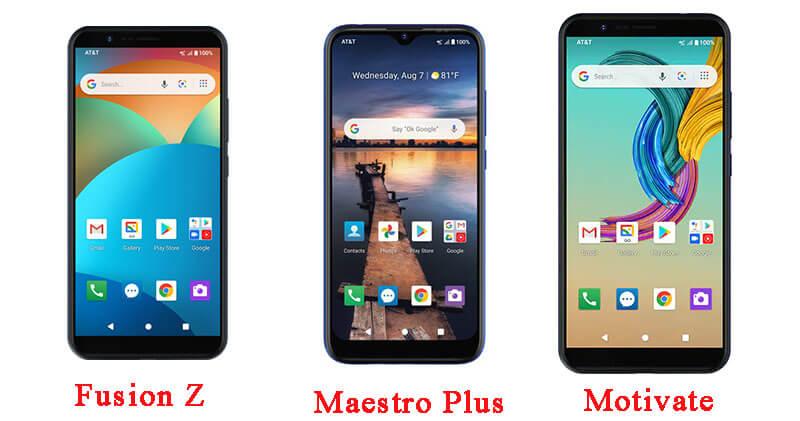 3 mẫu điện thoại Vsmart sản xuất cho nhà mạng AT&T của Mỹ