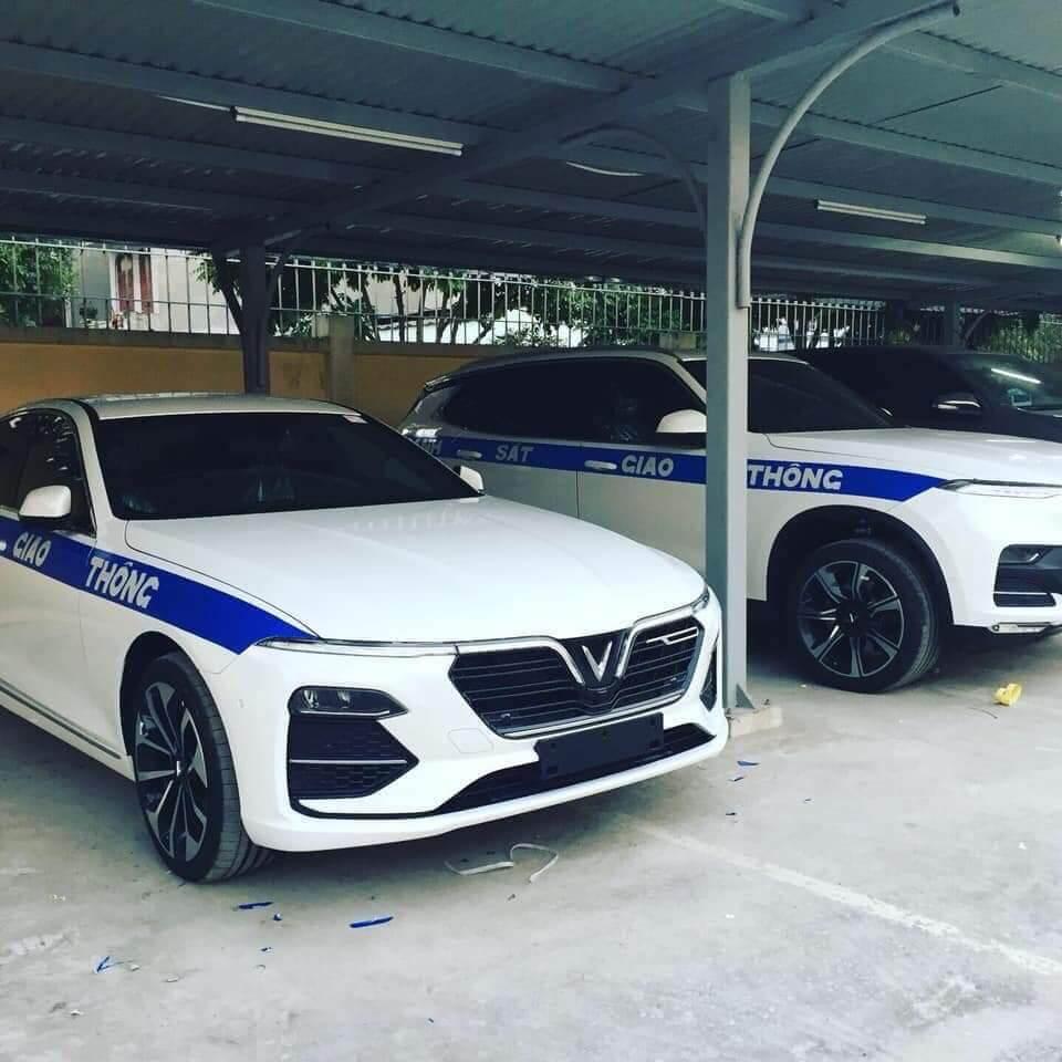 Xe VinFast Lux dành cho cảnh sát giao thông Việt Nam